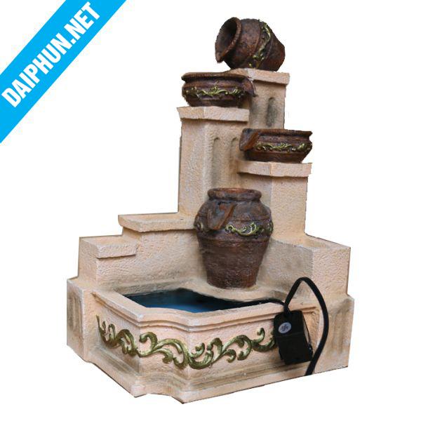 Đài phun nước mini bình gốm