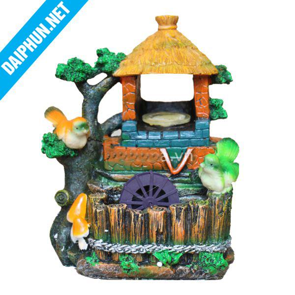 Đài phun nước mini nhà rông