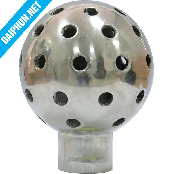 Đầu phun nước cầu thủy tinh