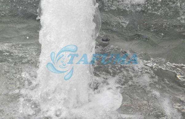 Ứng dụng đầu phun nước dạng cốc sủi bọt