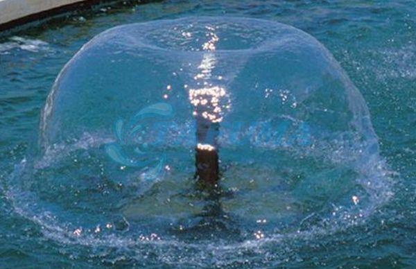 Ứng dụng đầu phun nước hình nấm