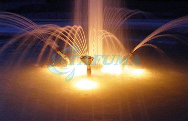 Ứng dụng vòi phun nước xẻ quạt đa tia