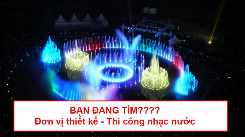 Dịch vụ thiết kế nhạc nước Tafuma Việt Nam