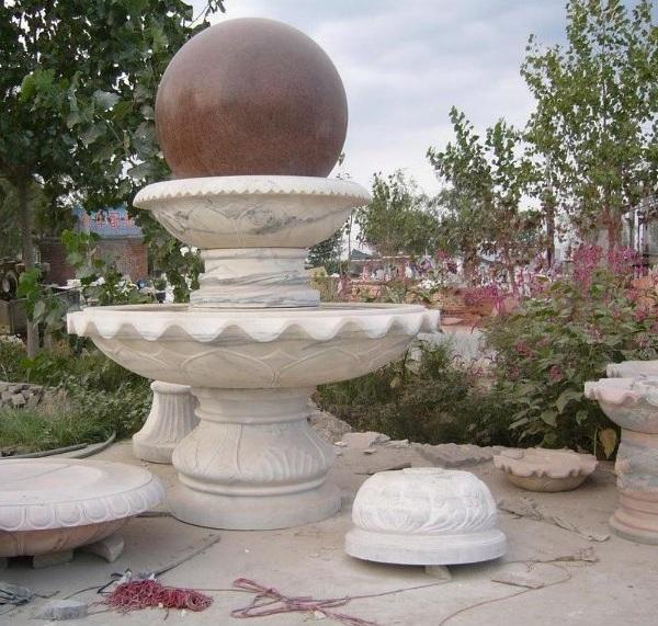 Đài phun nước bằng đá chế tác