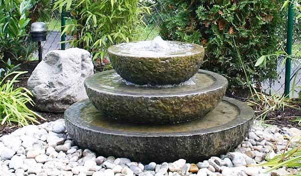 Đài phun nước bằng đá tự nhiên