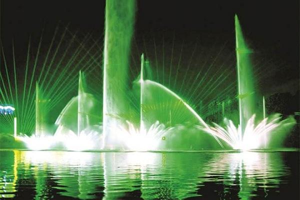 Nhạc nước ở Vinpearl Nha Trang