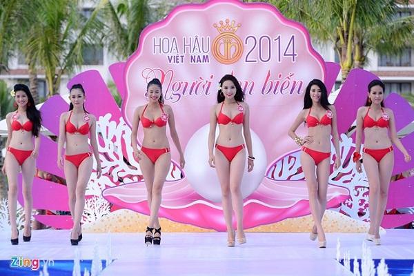Cuộc thi hoa hậu năm 2014 được tổ chức tại Vinpearl Nha Trang