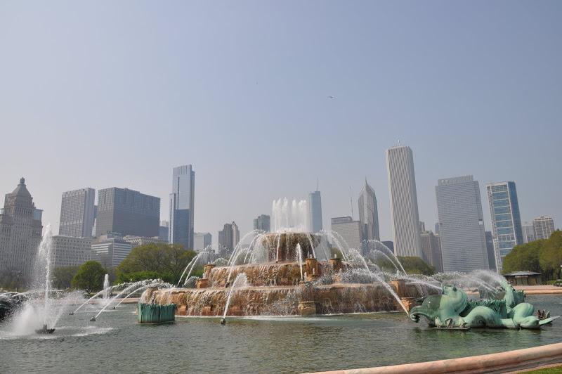 Đài phun nước Buckingham – Chicago