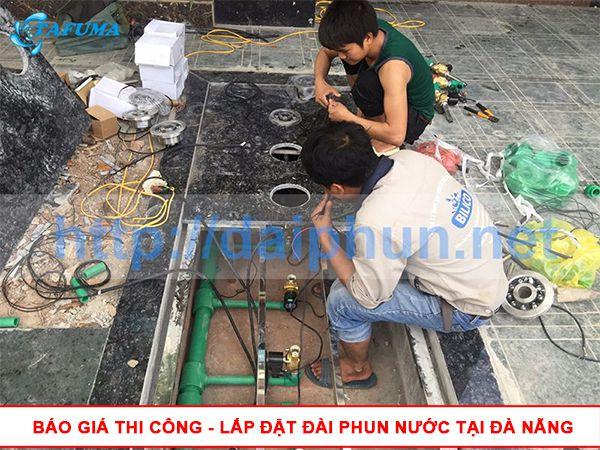 Báo giá thi công lắp đặt đài phun nước tại Đà Nẵng