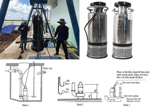 Máy bơm chìm chuyên dụng dành cho đài phun nước