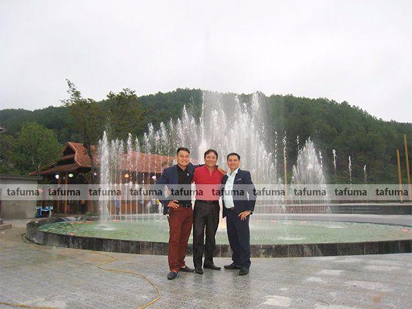 Công trình đài phun nước Đà Nẵng