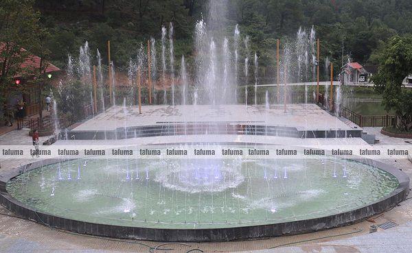 Công trình đài phun nước Hà Tĩnh