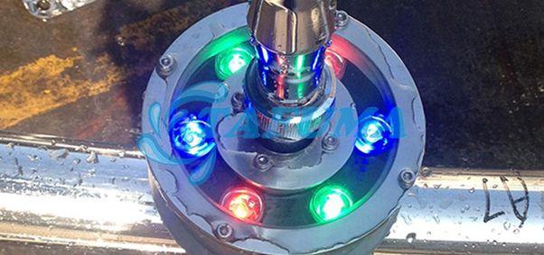 Hình ảnh đèn led chịu nước đài phun TFH