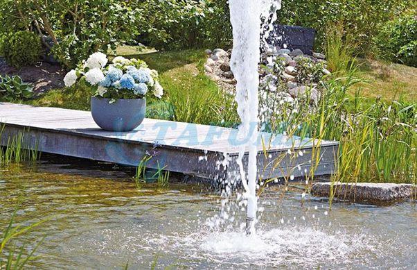Ứng dụng đầu phun nước dạng cột nước sủi bọt
