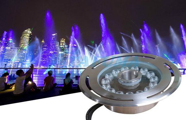 Ứng dụng đèn led âm chịu nước TFK