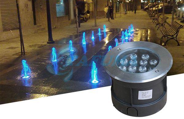 Ứng dụng của đèn led âm chịu nước TFC