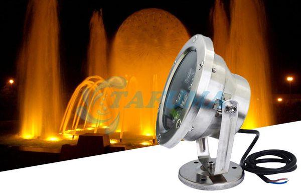 Ứng dụng đèn led đài phun nước có đế TFM