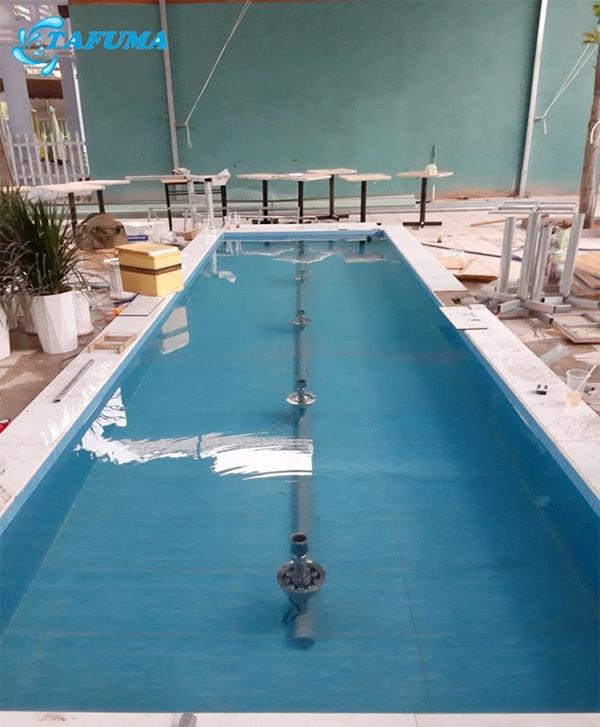 Bồn chưa nước công trình đài phun anh Hải - Bình Dương