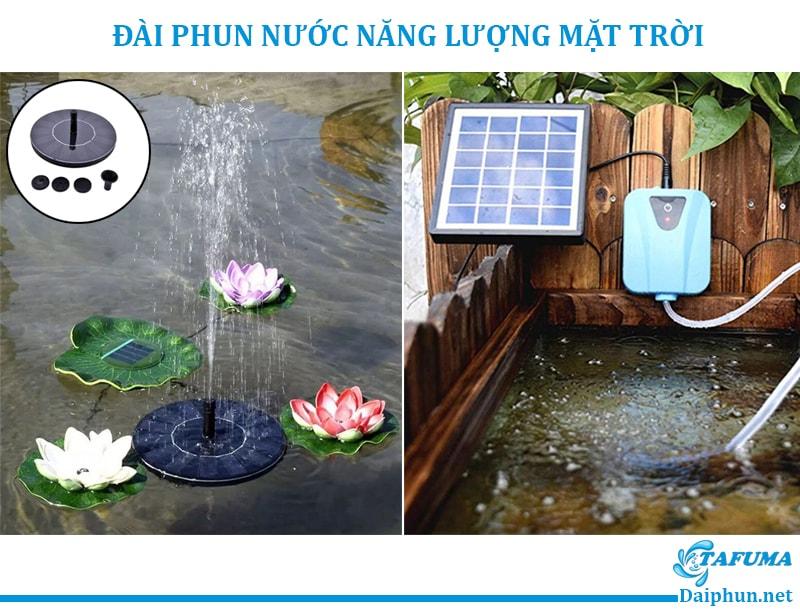 Đài Phun Nước Năng Lượng Mặt Trời - Tafuma Việt Nam