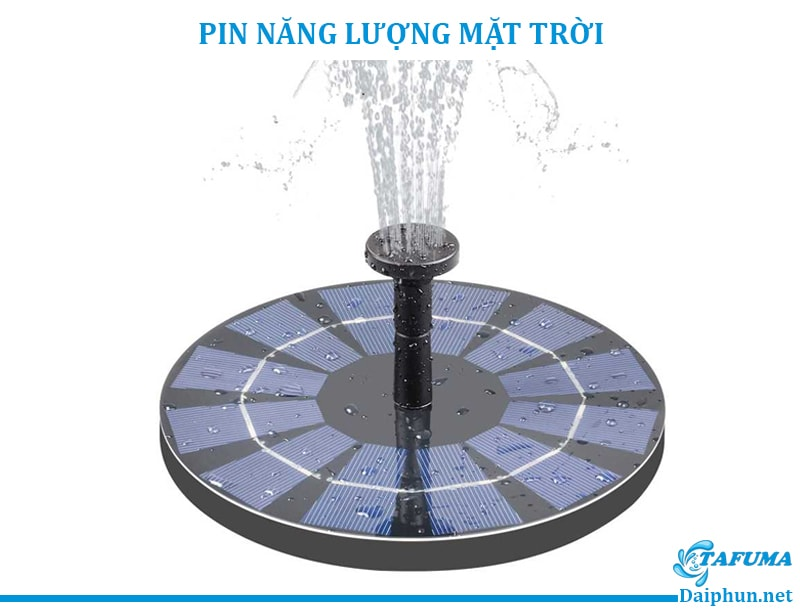 Pin năng lượng mặt trời sử dụng cho đài phun nước - Tafuma Việt Nam