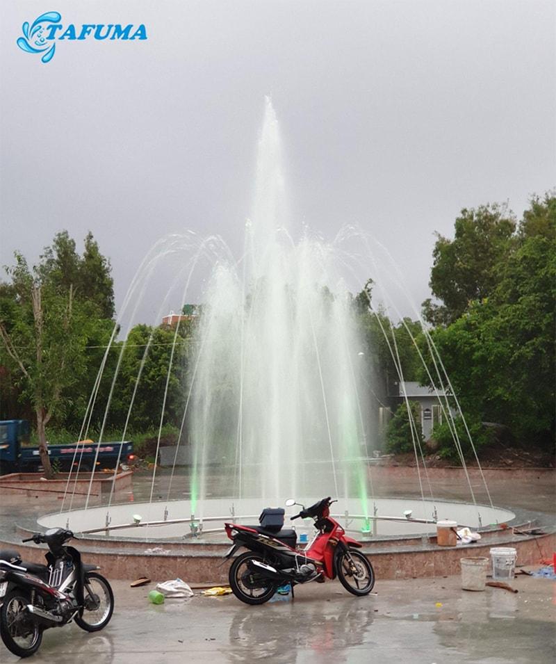 Công trình đài phun nước anh Thuận - Kiên Giang
